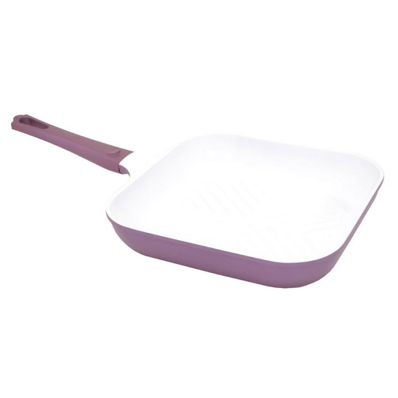 Grillpann Vioflam 28x28x5,6cm  purple (valualumiinium keraamilise kattega)