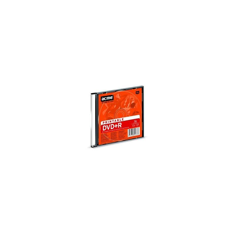 ACME DVD-R 4,7GB/16x slim, prinditav 1tk. EOL