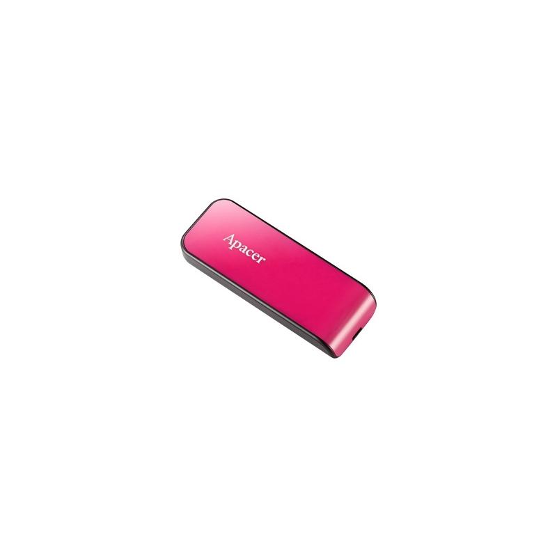 Mälupulk USB 2.0, 16GB, roosa