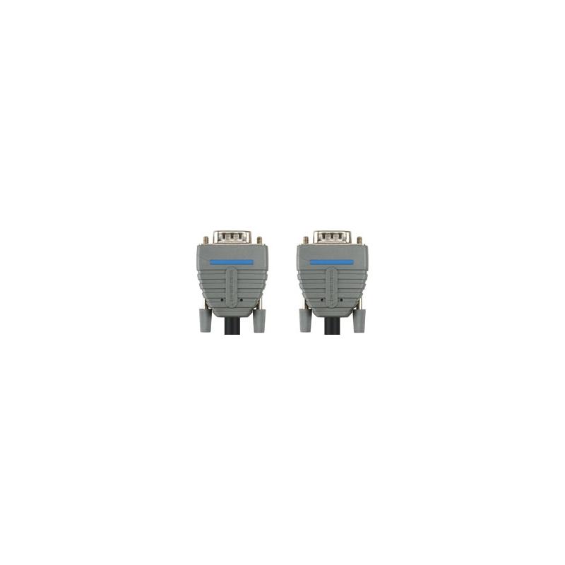Bandridge BCL1110 VGA Monitori kaabel, 15p otsik-15p otsik 10m