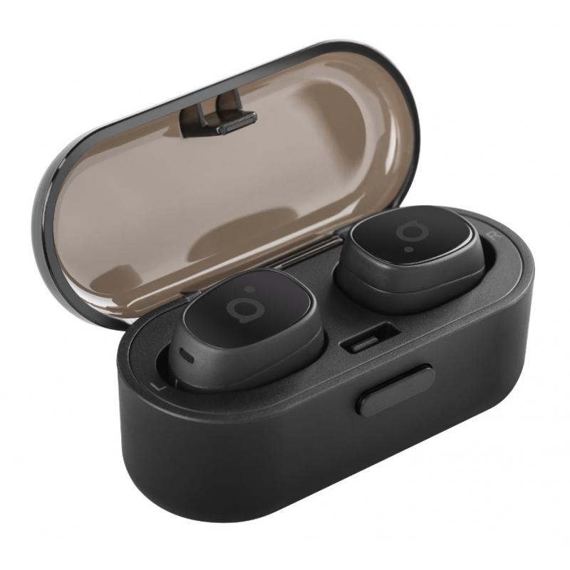Kõrvaklapid Bluetooth mikrofoniga, True Wireless, BT 4.2, kõrvasisesed