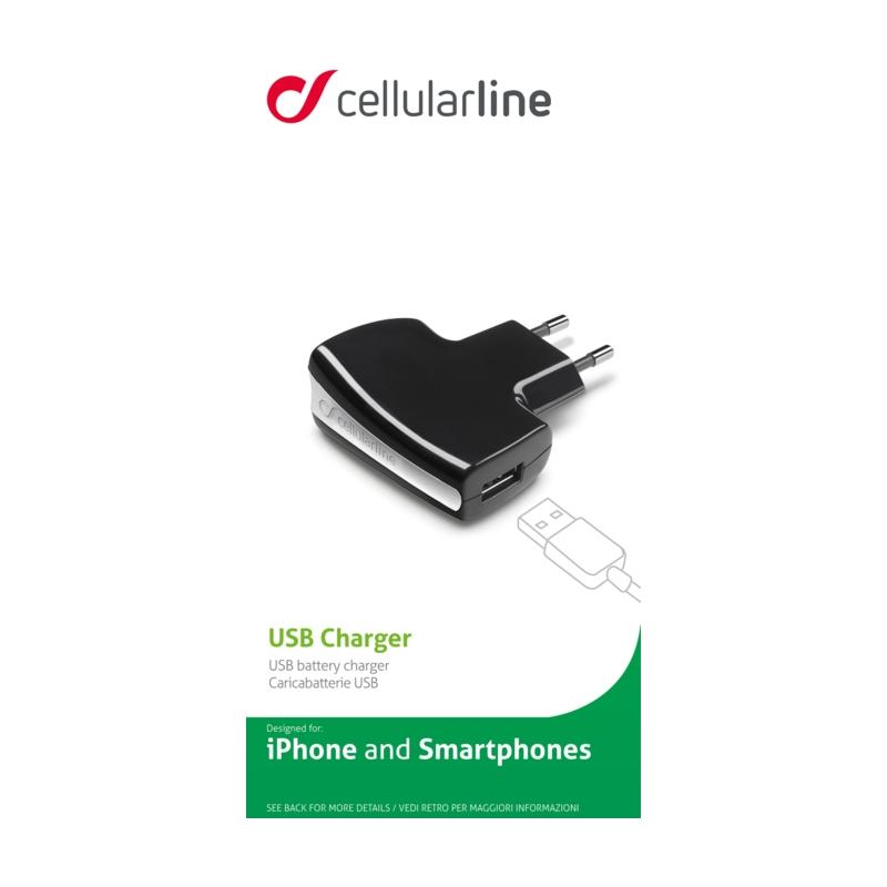 Cellular USB pesaga laadija 110-240V
