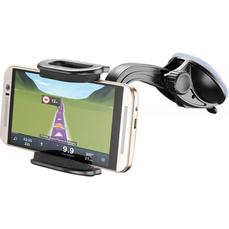 Cellular Line mob./smartphone hoidja autosse klaasile/plastikule