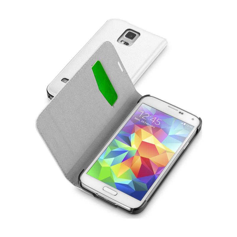 Cellular Samsung Galaxy S5 ümbris, Book Essential, valge EOL