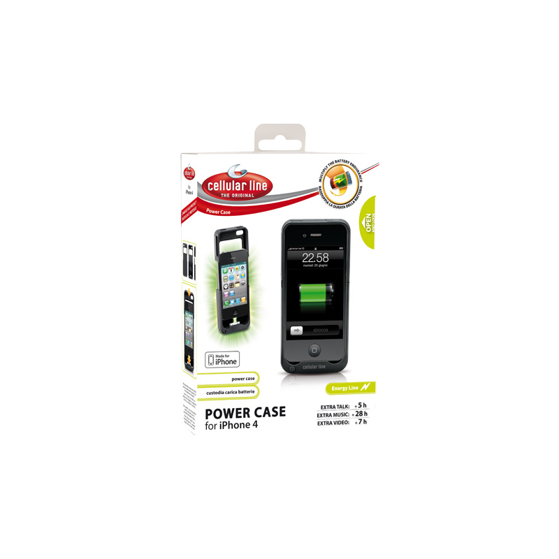 Cellular Line Powercase Iphone4/2s 1600mAh