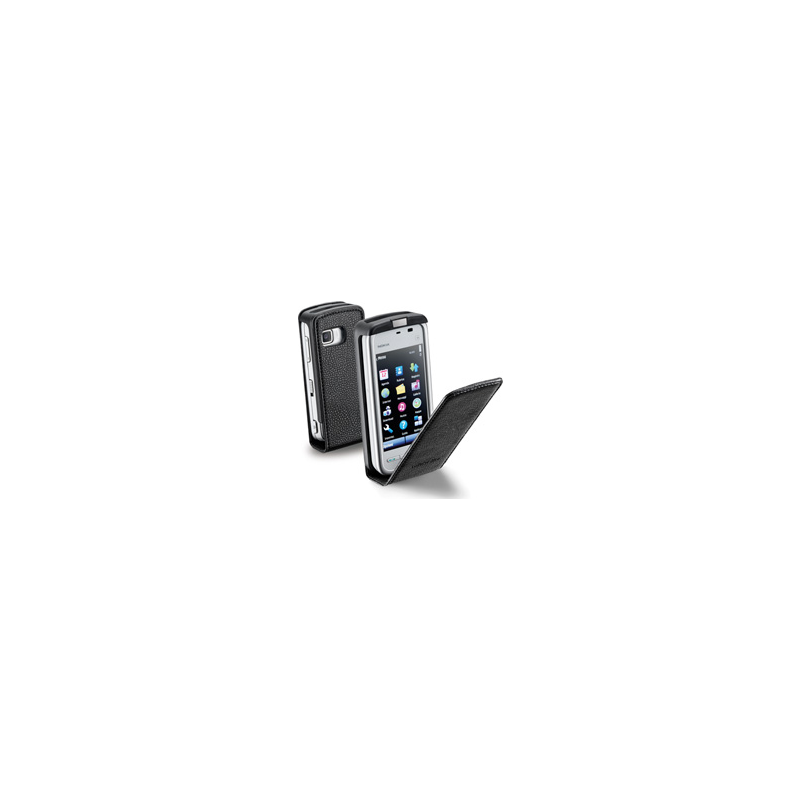 Cellular Samsung Galaxy S2 I9100 ümbris, Flap (magnetiga), must EOL