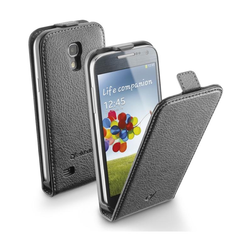 Cellular Samsung Galaxy S4 mini ümbris, Flap (magnetiga), must