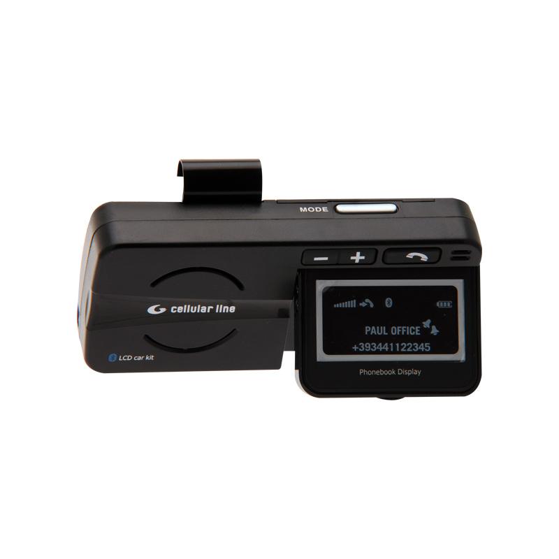 CellularLine Bluetooth käedvaba kompl.autosse LCD ekraaniga EOL