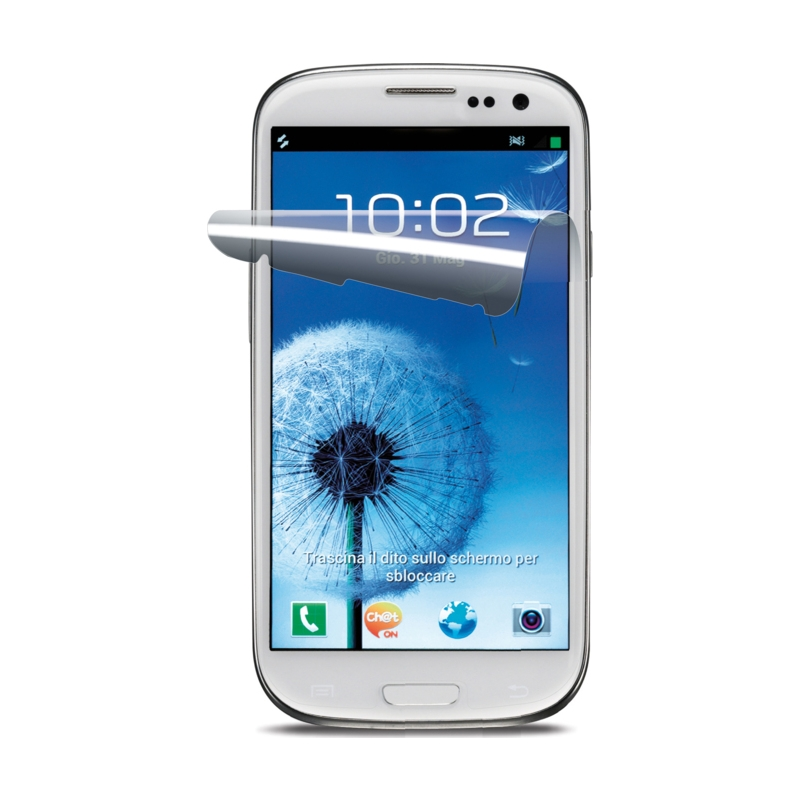 Cellular Samsung Galaxy S3 ekraanikile, Clear Glass, 2tk EOL