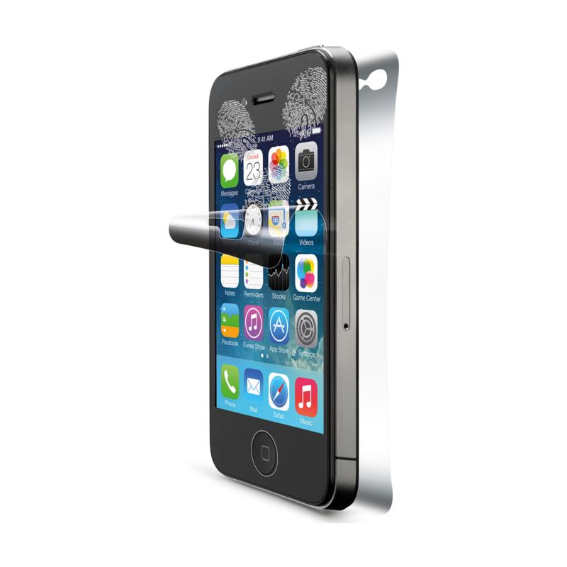 Cellular iPhone 4/4S ekraanikile Ultra+tagumine kile