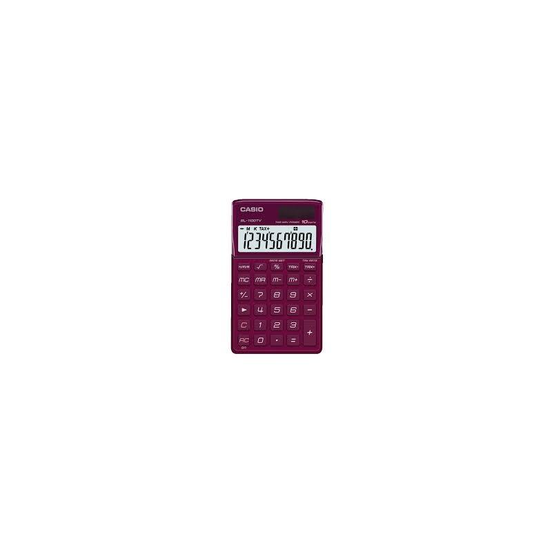 Casio SL1100TV taskukalkulaator 10 numbrit, päike/patarei toide bordoo EOL