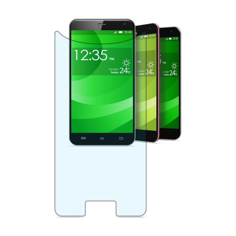 Cellulari universaalne klaas kuni 4,9 tollisele telefonile