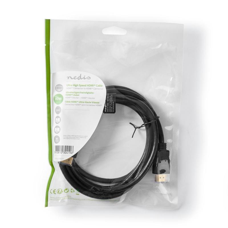 Kaabel HDMI A otsik - otsik 2.1 2m
