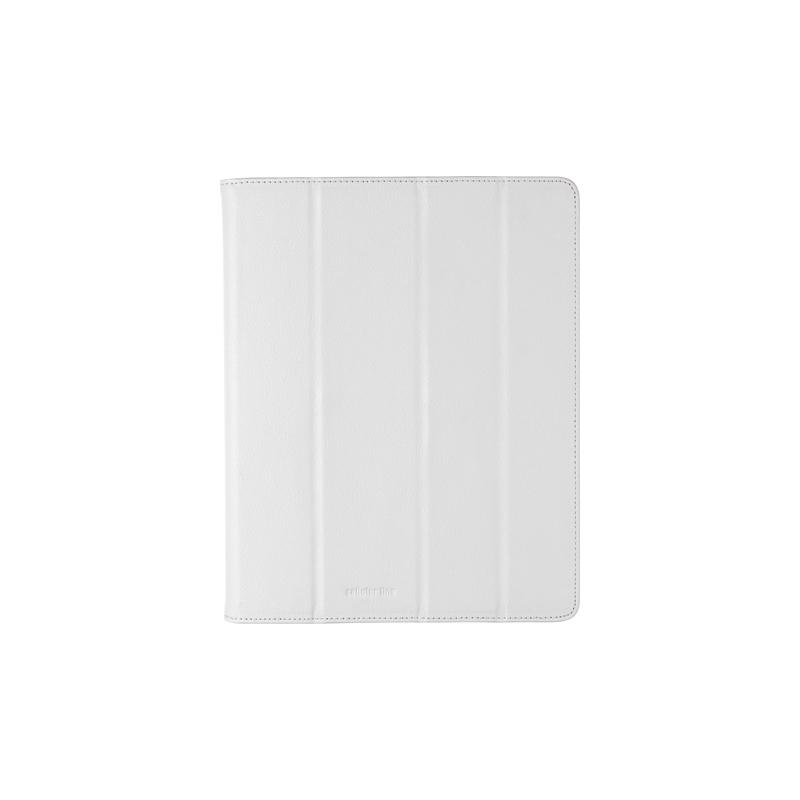 Cellular iPad 2/3 ümbris, kunstnahk, magnetiga, valge EOL