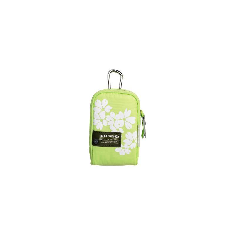 """Golla digikaamera kott """"Hollis"""" laimi roheline (G1249) EOL"""
