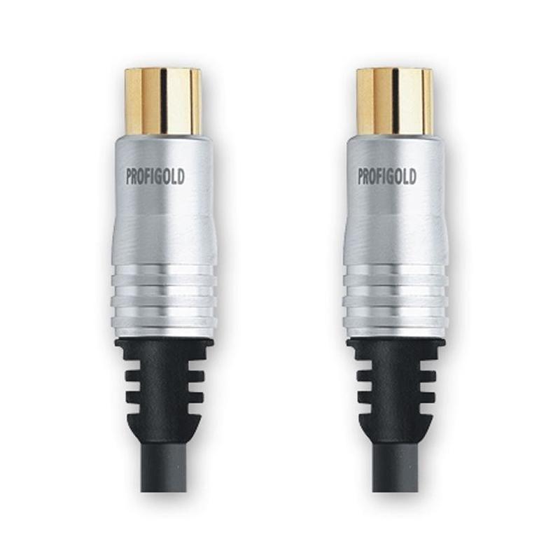 Profigold PGV8905 Antennikaabel Coax otsik-Coax otsik,100Hz 5m EOL