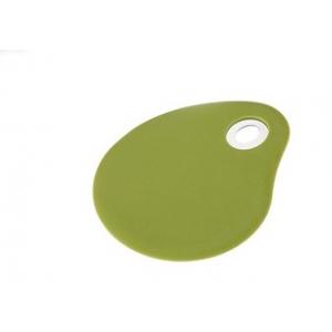 Kaabits Bergner 13x10cm, roostevaba/silikoon, oliiviroheline /96