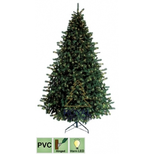 Kuusk Utah Premium 1050 soe-valge LED tuld 360cm d. 190cm, 4700tippu