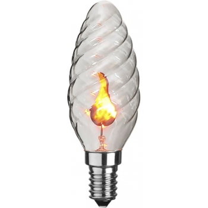 Pirn 3W, värelev, +5° - +35°, E14 230V 3,5x10cm 20/200