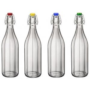 Pudel Oxford 100cl 4 eri värvi korgiga  F12 T-Ass