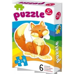 Puzzle loomad (6 erinevat)