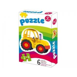 Puzzle autod (6 erinevat)