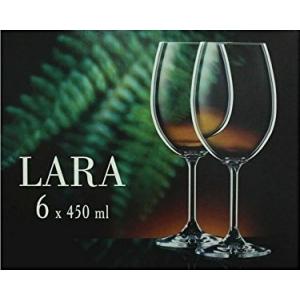 Veini pokaalid Lara Classic 6tk, 450ml