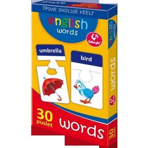 Piltpuzzle 30 inglise sõna