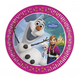 Frozen taldrik 20cm/8tk.