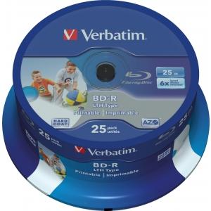 Verbatim BD-R 25GB/6X 25 torn, prinditav