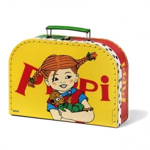 Pipi kohver, 25 cm, kollane