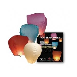 Kuumaõhupall 2tk värvilised