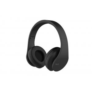 Kõrvaklapid Bluetooth,suured, microSD, mustad