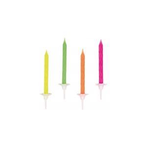 Küünlad Neon, 6,3cm 10tk/ 10