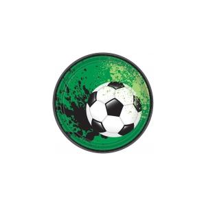 Jalgpall Taldrikud 18cm 8tk/pk