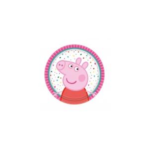Peppa Pig Taldrikud 18cm 8tk/pk