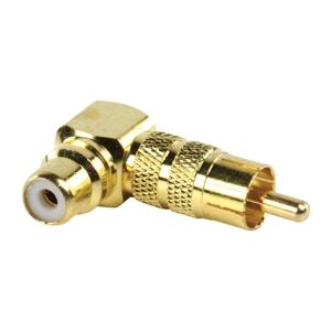 Valueline RCA pesa - RCA pistik, kullast, nurgaga TELL
