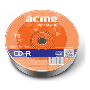ACME CD-R 700MB/52X 10torn