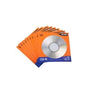 ACME CD-R 700MB/52x ümbrikus 10-pakk EOL