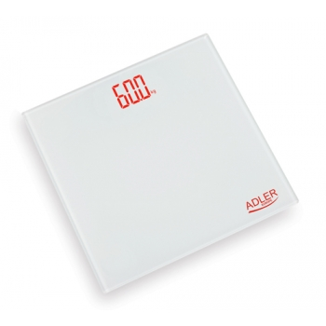 Adler AD8138 vannitoakaal elektrooniline max 150kg, valge EOL