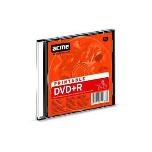 ACME DVD+R 4,7 GB/16x prinditav slim EOL
