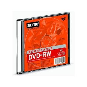 ACME DVD-RW 4,7GB4x slim 1tk.