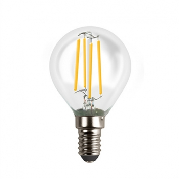 Acme LED filament Globe 4W, 3000K warm white, E14