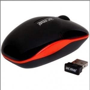 ACME MW-05 juhtmeta minihiir, USB, must EOL
