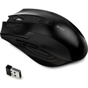 ACME MW14 juhtmevaba optiline hiir, lisanuppudega, USB