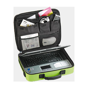 "A-QUIP A/NC-1 sülearvuti kott 15,4"" roheline EOL"
