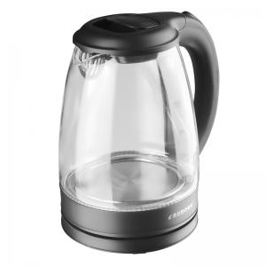Veekeetja klaaskannuga 1,8L, 1750W, must