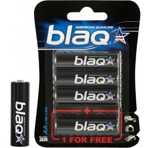 BLAQ AA alkaline patareid 3+1pk