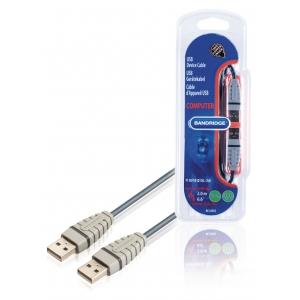Bandridge BCL4802 USB 1.1 A otsik - USB A otsik 2.0m