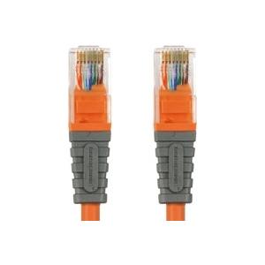 Bandridge BCL7403 Võrgukaabel ristatud UTP Cat.5E oranž 3m